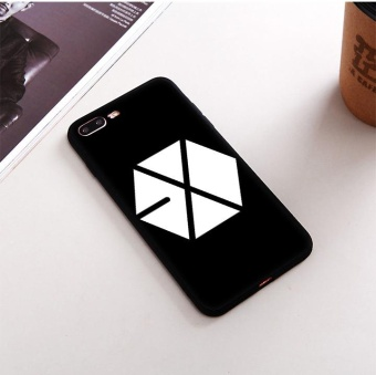 exo kpop logo Protection Mobile Phone Case Cover TPU Soft Case For Iphone 7 - intl