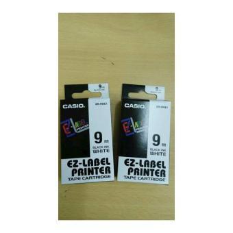harga EZ-Label Printer Casio 9Mm Black Ink White Lazada.co.id