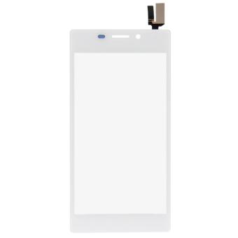 Fancytoy Kaca Layar Sentuh Digitizer Ganti untuk Sony M2 S50h D2303 D2305 D2306 (Putih)