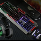 Detail Gambar Fantech K10 Backlit Pro Gaming Keyboard untuk Desktop Laptop (Hitam)-NZASC-Intl Terkini