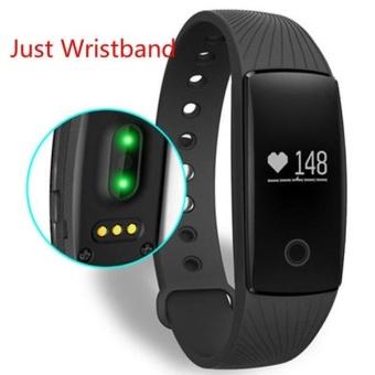 Fashion Fitness Tracker Heart Rate Monitor Wristband Strap untuk IPRO ID107 Smart Watch FAN (Warna