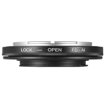 FD-AI Adapter Ring Lens Mount for Canon FD Lens to Fit .