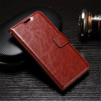 FLIP COVER WALLET Nokia 6 Casing Leather Case Dompet Back Cover