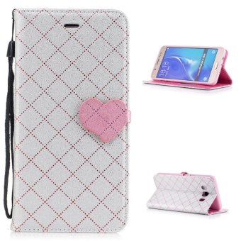 "Hot Deals ""Flip Style Heart Wallet Cover (kulit PU dan TPU) Stan Fungsi"
