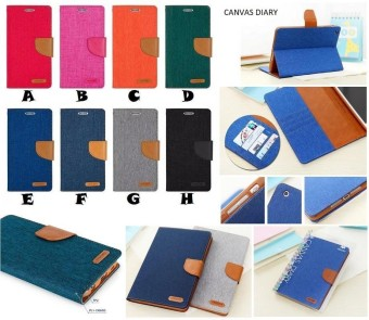 Flipcover Flipcase Flip Cover Case Canvas Diary Samsung J7 Pro