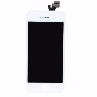 For iPhone 5 5G LCD Display Touch Screen Digitizer Assembly Replacement White - intl