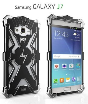 For Samsung Galaxy J7(2016) Phone Case Original Design Armor Heavy Dust Metal Aluminum
