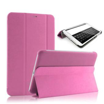 For Samsung Galaxy Tab3 7.0 Lite T110 T111 Case Cover Auto WakeSleep Pink - intl