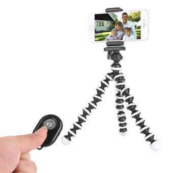 Fosoto Tumpuan Kaki Tiga untuk IPhone-Tripod Telepon Genggam-iPhone Tripod Menggunakan Remote-