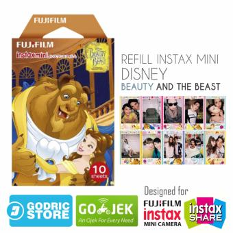 Fujifilm Refill Instax Mini Film Beauty And The Beast - 10 Lembar