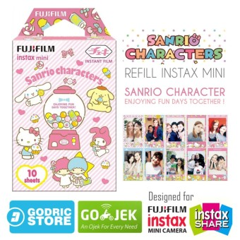 Fujifilm Refill Instax Mini Film  Sanrio Character (New Version) - 10 Lembar