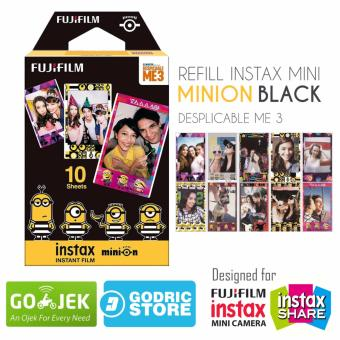Fujifilm Refill Instax Mini Film Minion Black Despicable Me - 10 Lembar