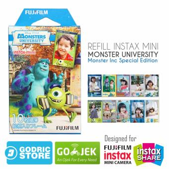 Fujifilm Refill Instax Mini Film Monster University - 10 Lembar