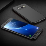 ... Coverage Protection with Tempered Glass Screen Protector (Black) - intl Terkini. Full-Body Case For Samsung Galaxy J7 (2016) J710 Soft TPU Matte Finish ...