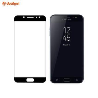 Full Cover Tempered Glass Anti Gores Kaca Transparan Screen Protector Untuk Samsung Galaxy J7 Plus