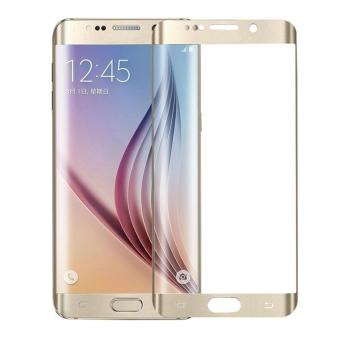 Full Cover Toughened Plating Tempered Glass LCD Screen Protector For Samsung Galaxy S6 Edge Plus -