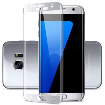 Full Cover Diperkuat Plating Tempered Glass LCD Screen Protector untuk Samsung Galaxy S7 EDGE-Intl