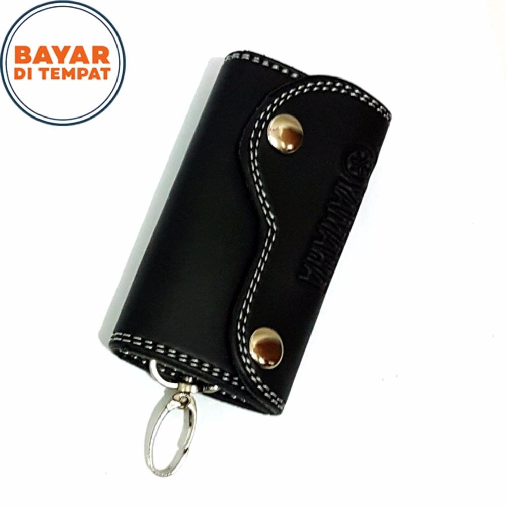 Gantungan Kunci Mobil 601-01 Kulit Sintetis Import - Black