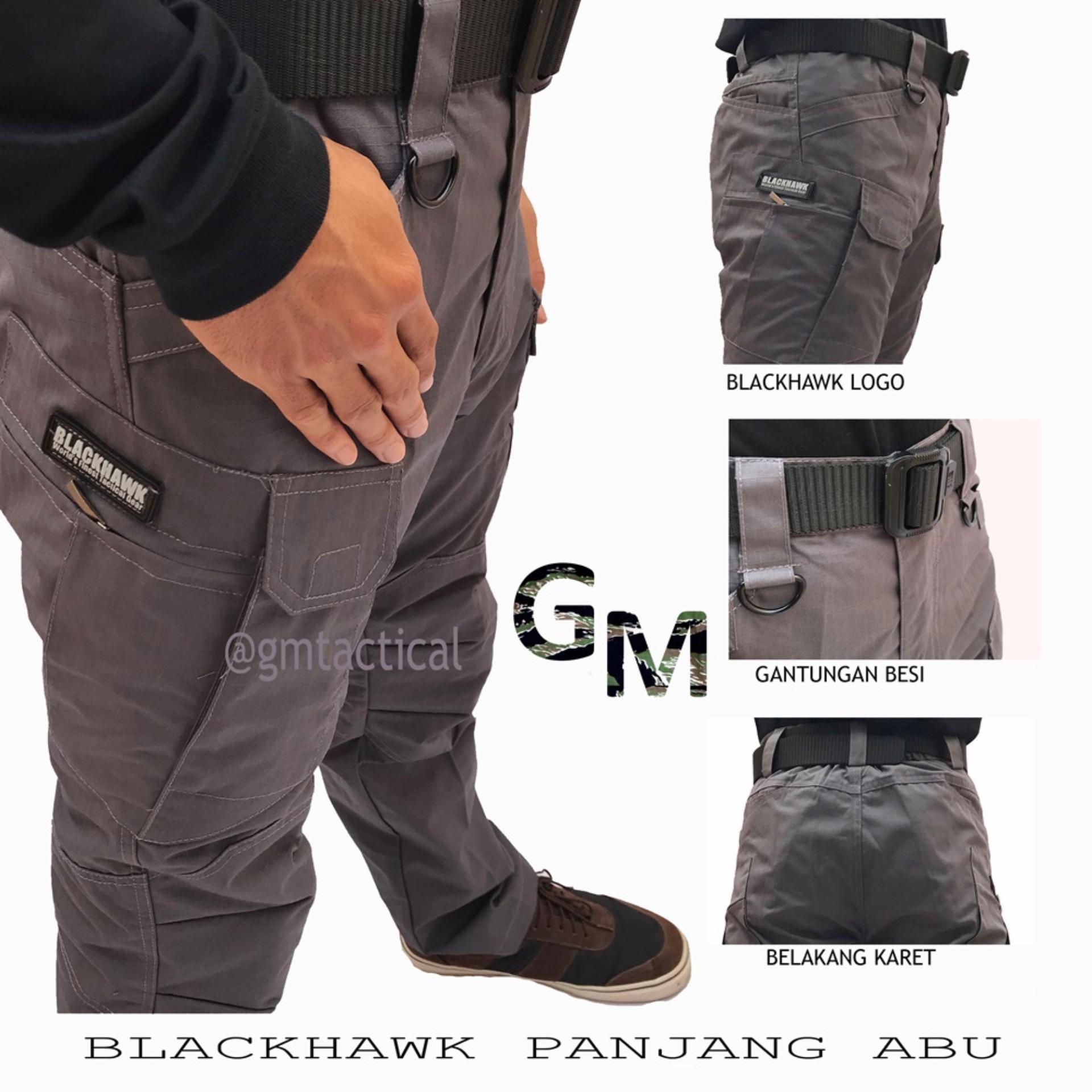 [-49%] GM Celana Tactical Blackhawk Panjang Cargo Premium PDL