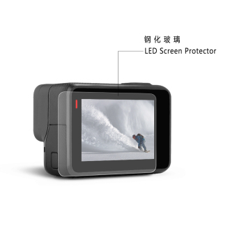 Premium Real Tempered Glass Screen Film Protector For Go pro Hero 5 4K Sports Action Camera accessories