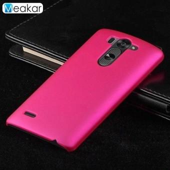 Grind Arenaceous Keras Plastik 5.0 Ponsel Sampul Belakang Case untuk LG G3 Mini/LG G3