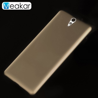 Menggiling Arenaceous Plastik Keras 6.0 Cell Phone Back Cover Case For Sony Xperia C5