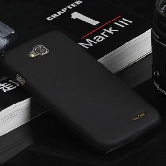 Menggiling Arenaceous Plastik Keras Shell 4.7 Cell Phone Back Cover Kasus Penutup untuk LG L90