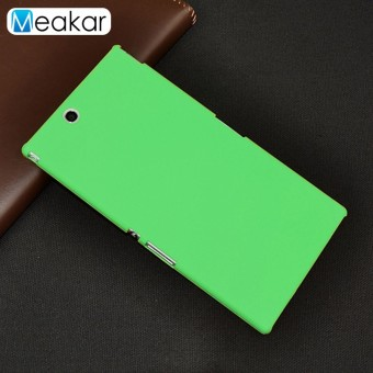 Grind arenaceous Hard Plastic shell 6.44 Cell Phone Cover Case for SONY Xperia Z Ultra /