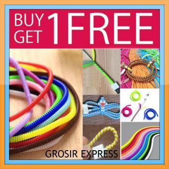 Grosir Express Kabel Pelindung 1 Warna - Buy 1 Get 1 Free