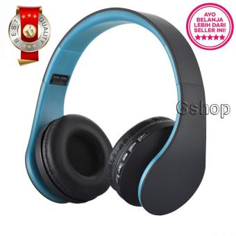 Gshop Bluetooth Stereo Headphone Support Micro SD ROPS EDR Buil-InMikrofon MP3 FM Headset