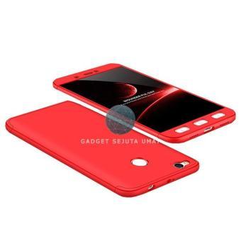 GSU Xiaomi Redmi 4x Full Cover Armor 360 Baby Skin Hard Case + Tempered Glass /