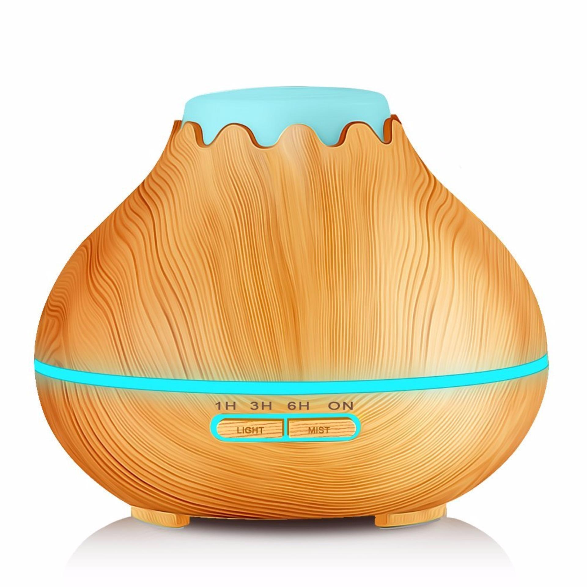 H05 - Essential Oil Aromatherapy Diffuser Ultrasonic Cool Mist Aroma Humidifier 7 Colors Mood Light LED
