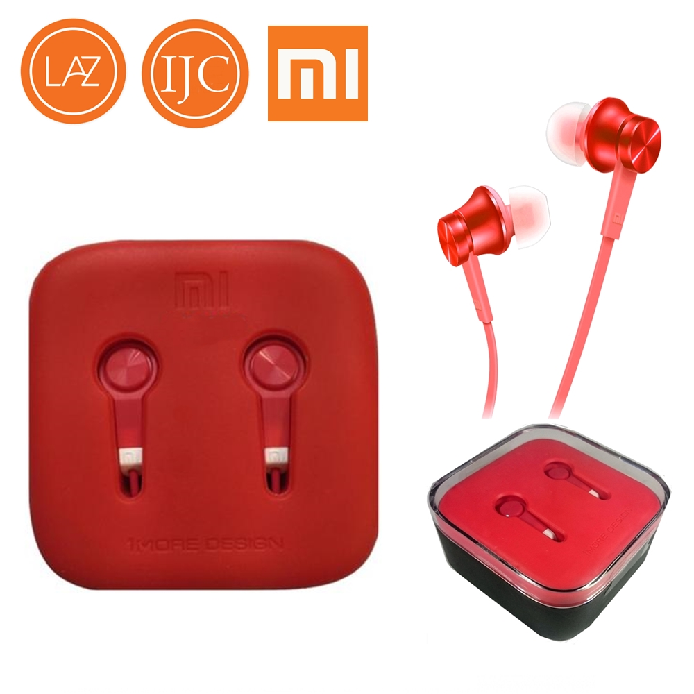 Xiaomi Earphone Big Bass Piston Mi 2 Generation Handsfree Review Of Headset 3 Platinum Red Colorful
