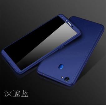 Hardcase 360 Oppo F5 / Youth Full Body Case Casing Cover Free Tempered - BIRU DONGKER