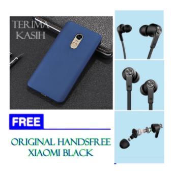 ... Hardcase Case For Xiaomi Redmi Note 4 4X Casing FREE ORIGINAL handsfree XIAOMI Black