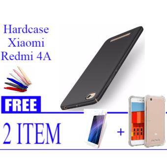 Features Hardcase Casing Cover Hp Xiaomi Redmi 4a Free Tempered