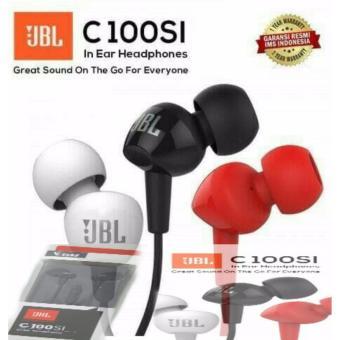 HEADSET EARPHONE JBL C100SI ORIGINAL GARANSI RESMI