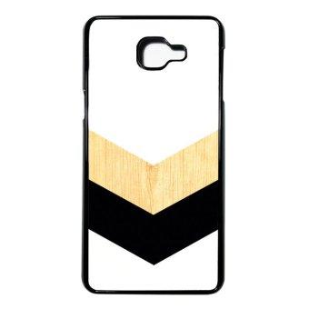 Heavencase Case Casing Samsung Galaxy A9 - Samsung Galaxy A9 Pro Case Hardcase Motif Batik Kayu