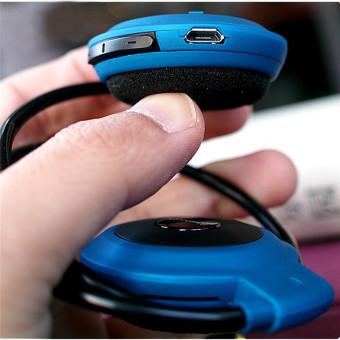 Mini Baru 2016 503 Leher Baju Olahraga Bebas Genggam Bluetooth Headset Stereo Nirkabel Telepon Kepala Alat