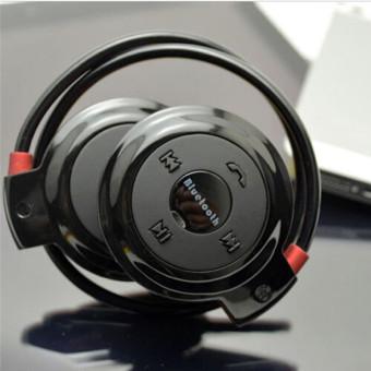 HengSong New Mini 503 leher baju olahraga bebas genggam Bluetooth Headset Stereo nirkabel telepon kepala alat