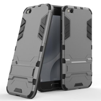 Hicase Detachable 2 in 1 Hybrid Armor Case Dual-Layer Shockproof Case Cover for Xiaomi