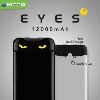 Hippo Power Bank Eyes 12000 MAH Slim Powerbank With Type C Port