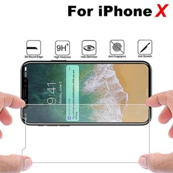 HMC - Screen Protector / Anti Gores Kaca Tempered Glass 2.5D 9H For Apple iPhone