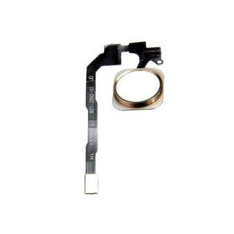 Rumah kabel kunci tombol ribbon ID susunan sensor sentuhan untuk iPhone 5S Emas