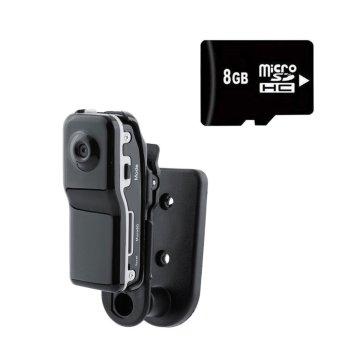 harga Hot Sale Baru mini Portable Md80 DV DVR Kamera Digital Kamera Sport Perekam Video + 8g TF Kartu Lazada.co.id