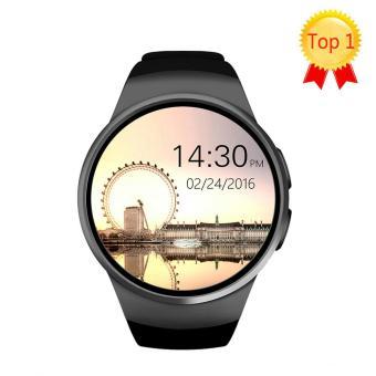Hot Penjualan KW18 Bluetooth Jam Tangan Pintar Denyut Jantung Jam Tangan Pintar Full Screen Penopang SIM
