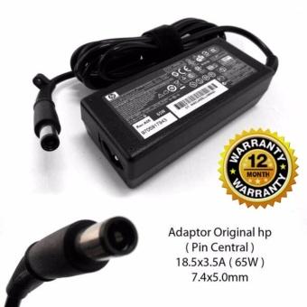 harga HP Original Adaptor Charger Laptop Notebook pavilion DV4 DV5 DV6 DV7 G4 G6 G7 G50 G60 G70 Berikut Kabel Power 18.5v 3.5A Jarum (7.4*5.0) Lazada.co.id