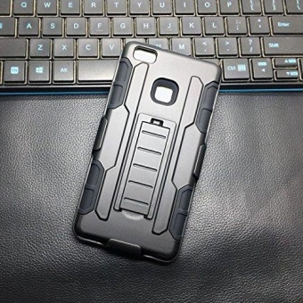 ... Tough Rugged Shockproof TPU PC Dual Layer Kickstand Case . Source · Huawei P9 Lite Shockproof DROP Proof Heavy Duty Belt Clip Shell Holster Armor 3 In 1