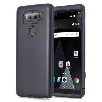 Hybrid ShockProof Hard Protective Case Cover for LG V20 Black - intl