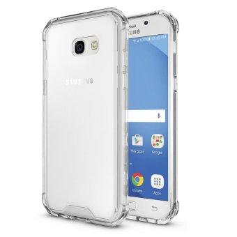 Dimana Beli Hybrid Slim Grip Tpu Bumper Transparent Hard Back Case Cover Forsamsung Galaxy A5 2017